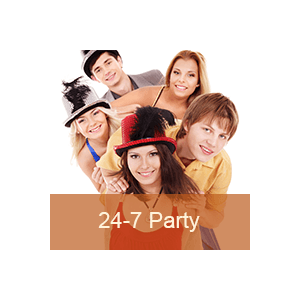 Radio 24-7 Niche Radio - Pop Party United States of America
