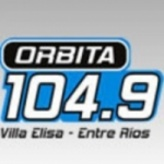 Радио Orbita FM 104.9 FM Аргентина, Вилья Элиса