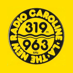 Radio Caroline 319 Gold - Radio Monique 963 Gold Netherlands