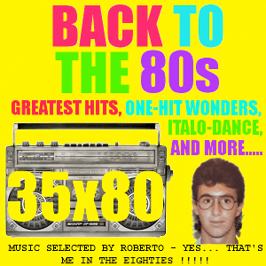 radio 35x80 Back to the 80s Italie, Milan
