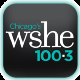 radio WSHE-FM 100.3 FM United States, Chicago