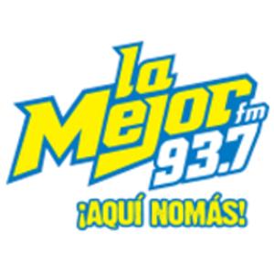 radio La Mejor 93.7 FM Messico, Aguascalientes