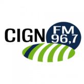 radio CIGN-FM (Coaticook) 96.7 FM Canadá, Québec