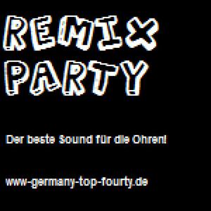 radio remix-party Duitsland