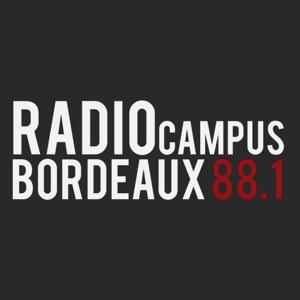 rádio Campus Bordeaux 88.1 FM França, Bordeaux