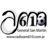 Радио General San Martín 610 AM Аргентина