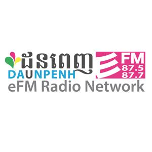rádio Daun Penh EFM 87.5 FM Camboja, Phnom Penh