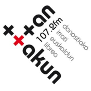 radio Ttan Ttakun Irratia 107.2 FM Hiszpania, San Sebastián