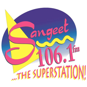 rádio Sangeet 106.1 FM 106.1 FM Trinidad e Tobago, Port-of-Spain