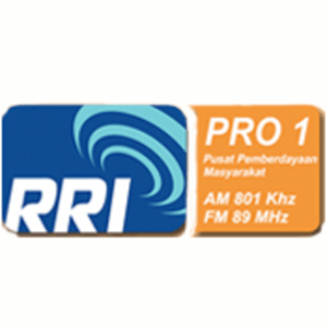 radio RRI Pro 1 (Semarang) 89 FM Indonésie