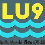 radio LU9 670 AM Argentina, Mar del Plata
