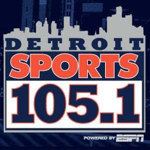 rádio WMGC-FM - Detroit Sports 105.1 FM Estados Unidos, Detroit
