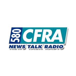 Radio CFRA News Talk Radio 580 AM Kanada, Ottawa