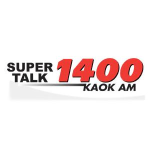 radio KAOK - Talk Radio (Lake Charles) 1400 AM Stany Zjednoczone, Luizjana