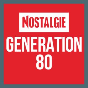 radio Nostalgie Génération 80 Frankrijk, Parijs
