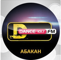 radio DFM 101.7 FM Russia, Abakan