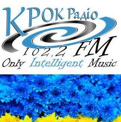 radio КРОК Радіо 102.2 FM Ukraine, Żytomierz