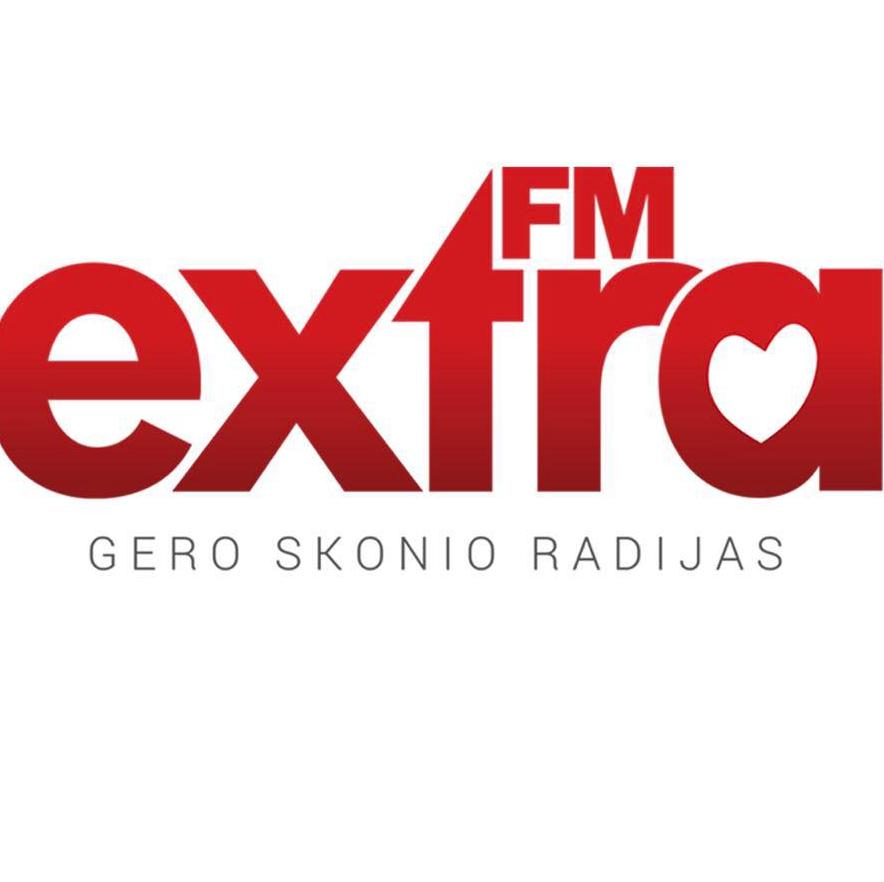 radio Extra FM 105.4 FM Lituania, Kaunas