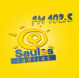 rádio Saules Radijas 102.5 FM Lituânia, Siauliai