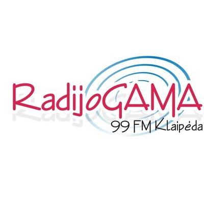 rádio Gama 99 FM Lituânia, Klaipeda