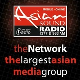 radio Asian Sound Radio 1377 AM Reino Unido, Manchester