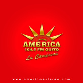 rádio Cadena Radial América 104.5 FM Equador, Quito