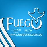 radio HJOC Fuego 1160 AM Kolumbia, Bogota