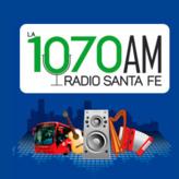 radio Q'Hubo Radio / Santa Fe 1070 AM Kolumbia, Bogota