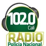 rádio Policia Nacional 102 FM Colômbia, Cali