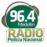 radio Policía Nacional 96.4 FM Colombia, Medellín