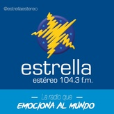 radio Estrella Estéreo 104.3 FM Kolumbia, Medellín