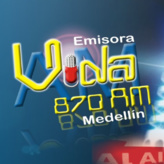 Радио Emisora Vida 870 AM Колумбия, Медельин