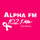 radio Alpha FM 102.1 FM Brasile, Goiânia
