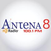 radio Antena 8 100.1 FM Panama, Panamá