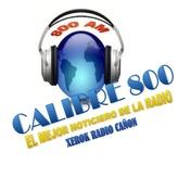 radio Cañon / Calibre 800 AM Messico, Ciudad Juárez
