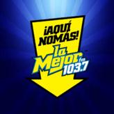 radio La Mejor 103.7 FM Meksyk, Durango