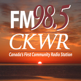 rádio CKWR Community Radio 98.5 FM Canadá, Kitchener
