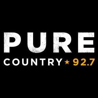 radio CHBD Pure Country 92.7 FM Canada, Regina