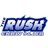 rádio CKRW The Rush 96.1 FM Canadá, Whitehorse