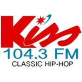 rádio WJKS Kiss FM 104.3 FM Estados Unidos, Burlington