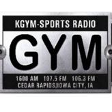radio KGYM The Gym 1600 AM Stany Zjednoczone, Cedar Rapids