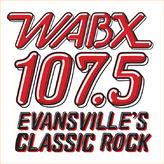 radio WABX Classic Rock 107.5 FM United States, Evansville
