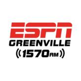 radio WECU - ESPN 1570 AM Stany Zjednoczone, Greenville