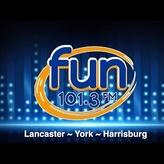 rádio WROZ Fun (Lancaster) 101.3 FM Estados Unidos, Pennsylvania