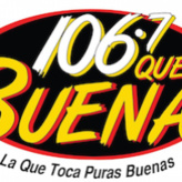 radio KCHX Qué Buena 106.7 FM Stati Uniti d'America, Odessa