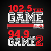 radio W235BW - The Game 2 94.9 FM Verenigde Staten, Nashville