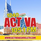 radio WNVL Activa 1240 AM Estados Unidos, Nashville