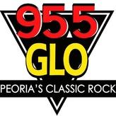 rádio WGLO 95.5 GLO Classic Rock 95.5 FM Estados Unidos, Peoria