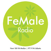 radio FeMale Radio 97.9 FM Indonesia, Yakarta