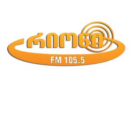 radio FM 105.5 / რადიო რიონი 105.5 FM Georgia, Kutaisi